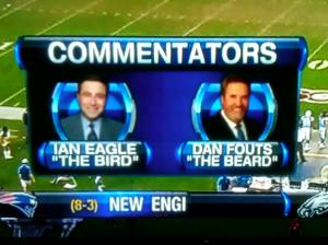 Ian Eagle & Dan Fouts will be moving up to NFL on CBS#2 Announcing Crew this fall.