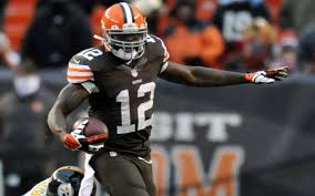Josh Gordon of the Cleveland could be suspended for the uncoming 2014 NFL Season due to offseason problems.