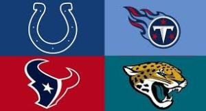 The Colts are trying to repeat as division champs, while the Titans, Texans & Jaguars are trying to rebuild & win on the run.