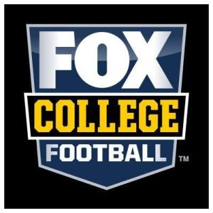 new FOX College Football Logo