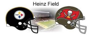 Bucs come to Pittsburgh to take on the Steelers.