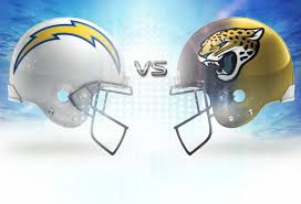 The Jaguars go to San Diego & play the Chargers.