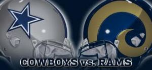10- Cowboys vs. Rams