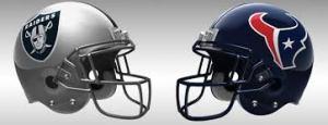 12 Texans vs. Raiders