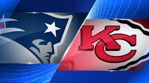 The Pats go out to Arrowhead Stadium & play the Chiefs on MNF.