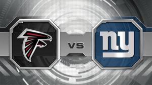 The Falcons & Giants meet in NJ @ Metlife Stadium