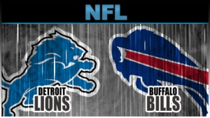 The Bills travel to Motown to play the Lions