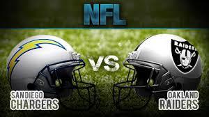 10- Chargers vs. Raiders