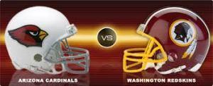 13- Redskins vs. Cardinals