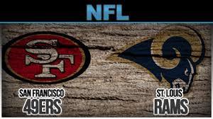 15- 49ers vs. Rams