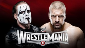 Triple H vs. Sting