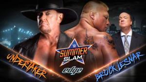 Underetaker vs. Brock Lesnar