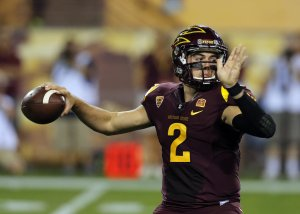 Mike Bercovici will look to lead Arizona State to it's first Pac-12 title since 2007.