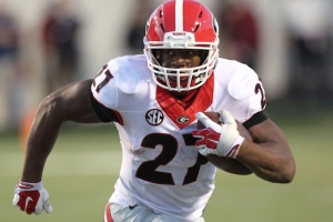 Georgia is a popular pick to make the College Football Playoff and Nick Chubb is a big reason why.