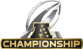 NFL AFC Championship Gold Logo