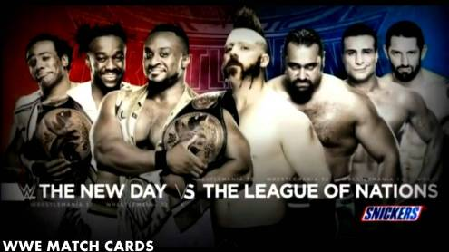 The New Day vs. LON