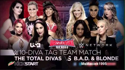 Total Divas vs. Bad & Blonde