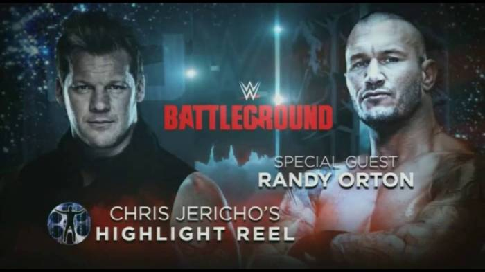 Chris Jericho HR with Randy Orton