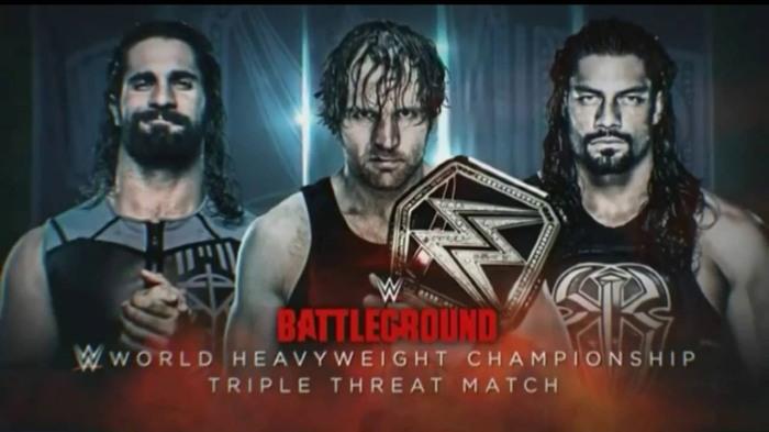 WWE Championship 3-way