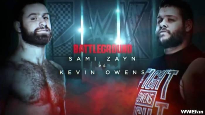 Zayn vs. Owens